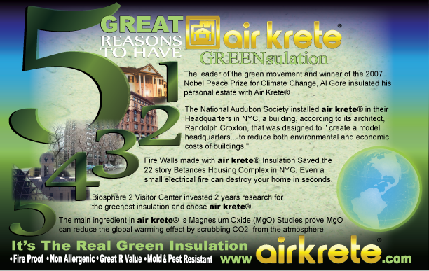 5 Great Reasons to Use AirKrete